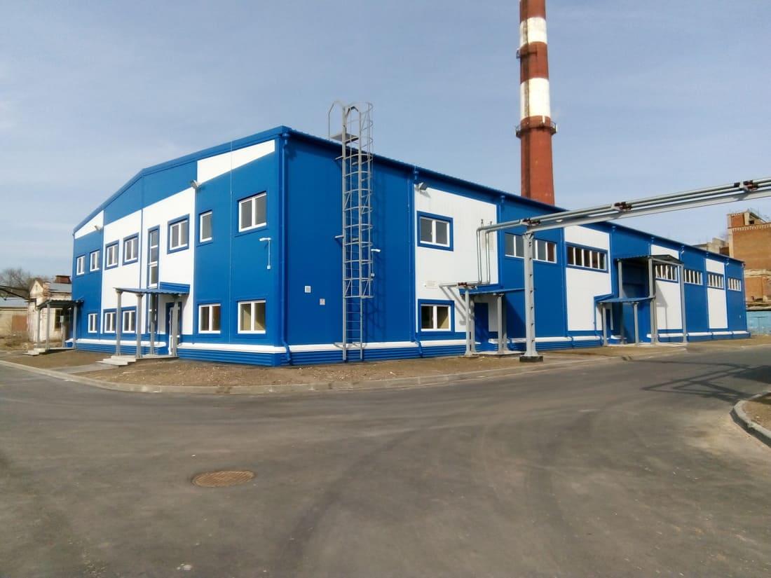 Строительство производственно-складских зданий АО Карболит