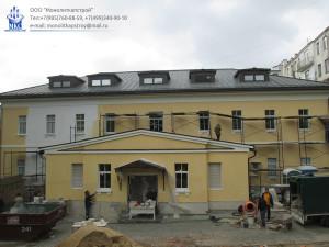 Реставрация здания Посольства Боливарианской республики Венесуэла в РФ